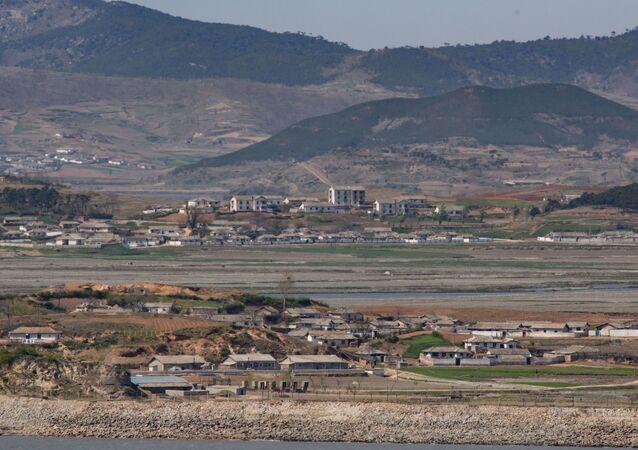 Kaesong, une ville frontalière de Corée du Nord
