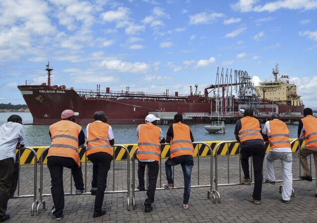 Transportation du pétrole kényan