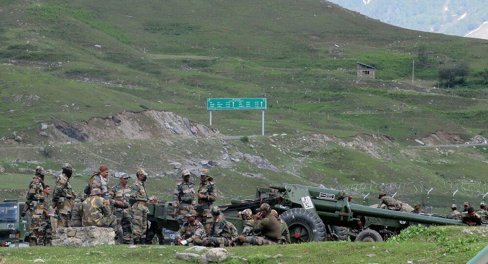 des soldats de l'armée indienne, image d'illustration