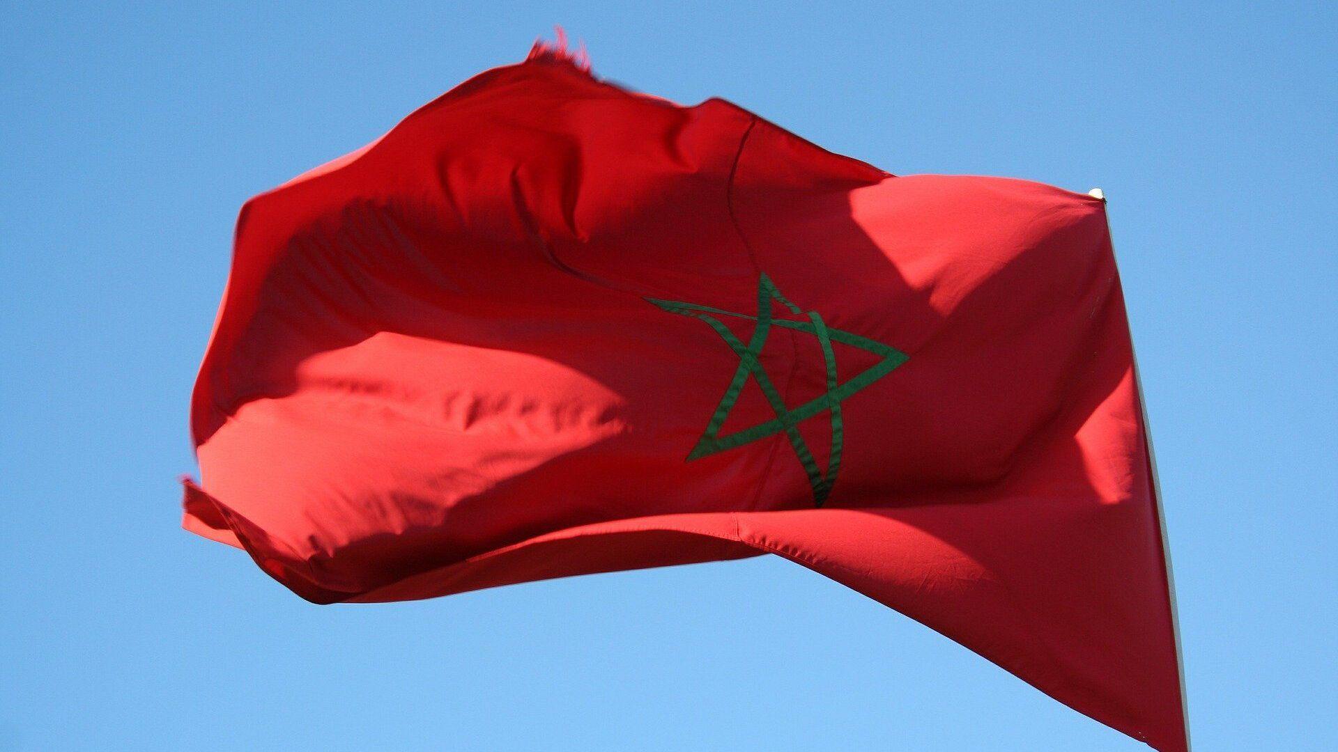 Drapeau Maroc  - Sputnik France, 1920, 01.08.2021