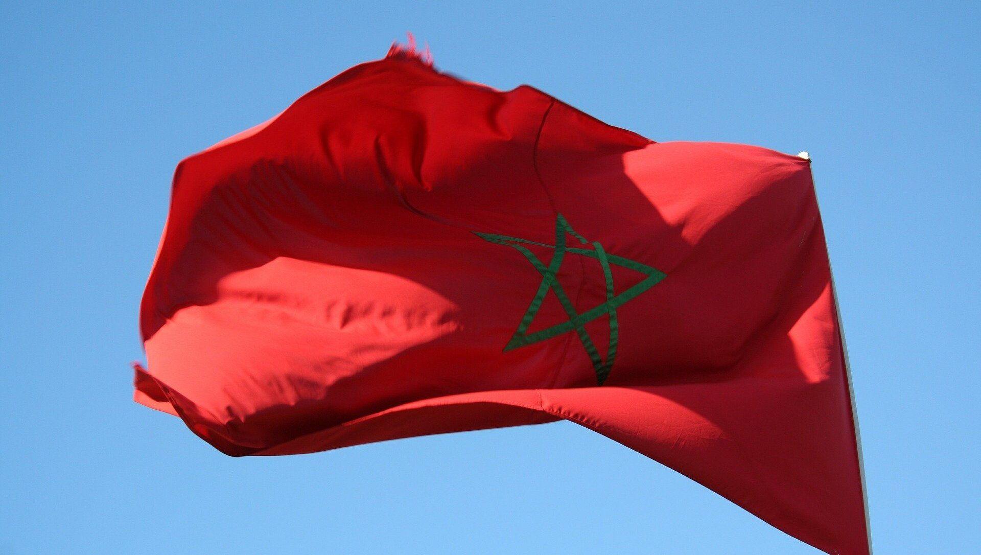 Drapeau Maroc  - Sputnik France, 1920, 09.09.2021