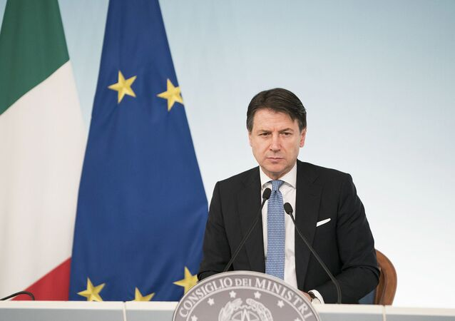 Giuseppe Conte (photo d'archives)