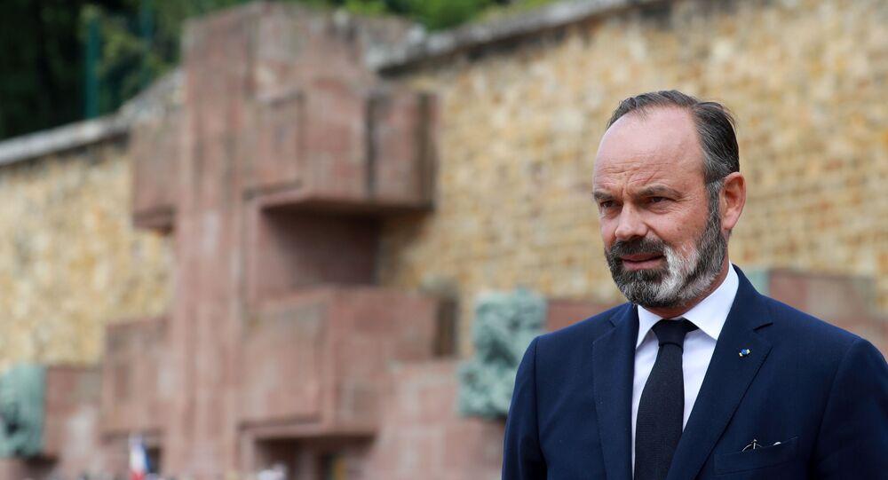 Édouard Philippe, le 18 juin 2020