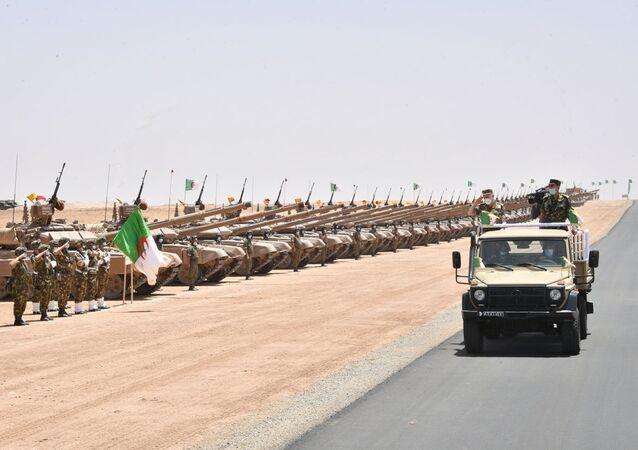 Exercices à tirs réels Bouclier 2020 à Oran