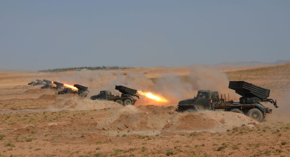 Exercices à tirs réles Bouclier 2020 à Oran