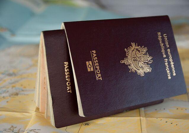 Un passeport français