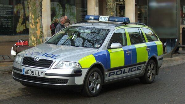 Une voiture de police britannique - Sputnik France