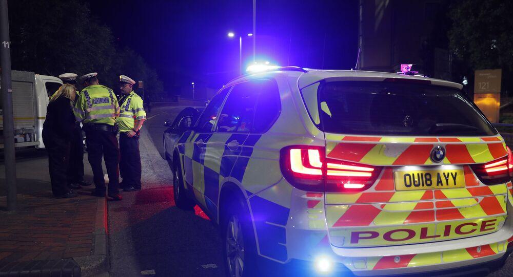 Police à Londres. Image d'illustration