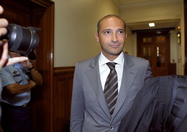 Thomas Fabius, fils de l'ancien Premier ministre Laurent Fabius