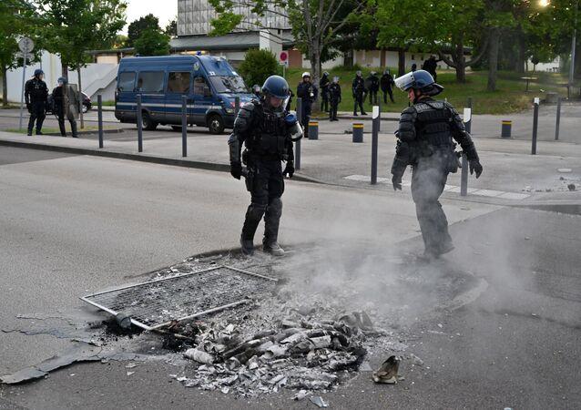 Dijon, après les violences