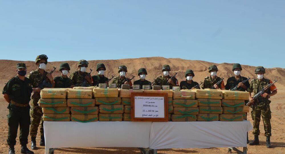Saisie de drogue près du Maroc