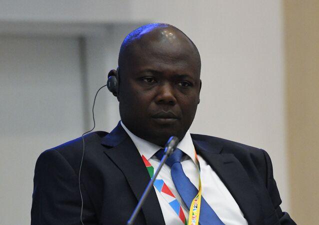 Josué Madjitoloum, président du conseil de l'administration de l'Organisation nationale patronale des Entreprises du Tchad, au Forum de Sotchi, 2019