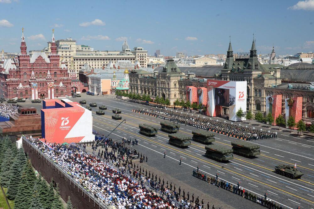 Le défilé militaire 2020