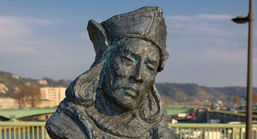 Buste de Christophe Colomb à Rouen