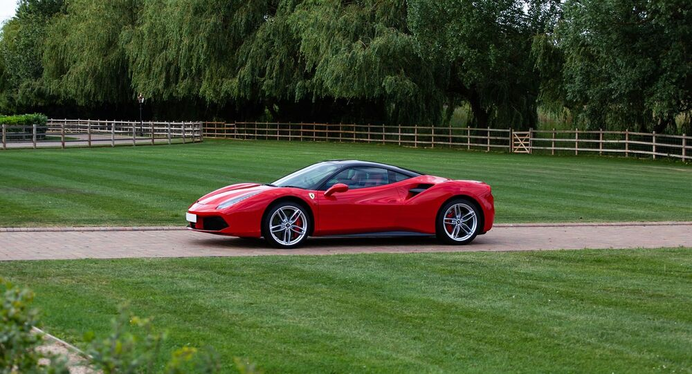 Ferrari 488 (image d'illustration)