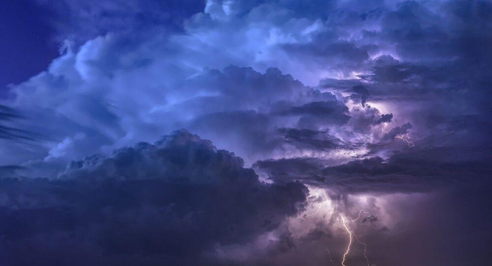 Un éclair (image d'illustration)