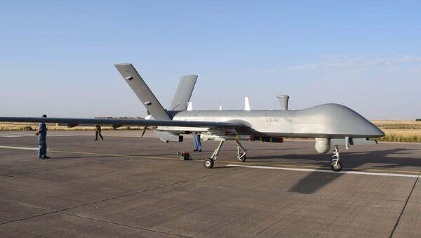Drone de combat CH-4B employé par l'armée algérienne. - Sputnik France