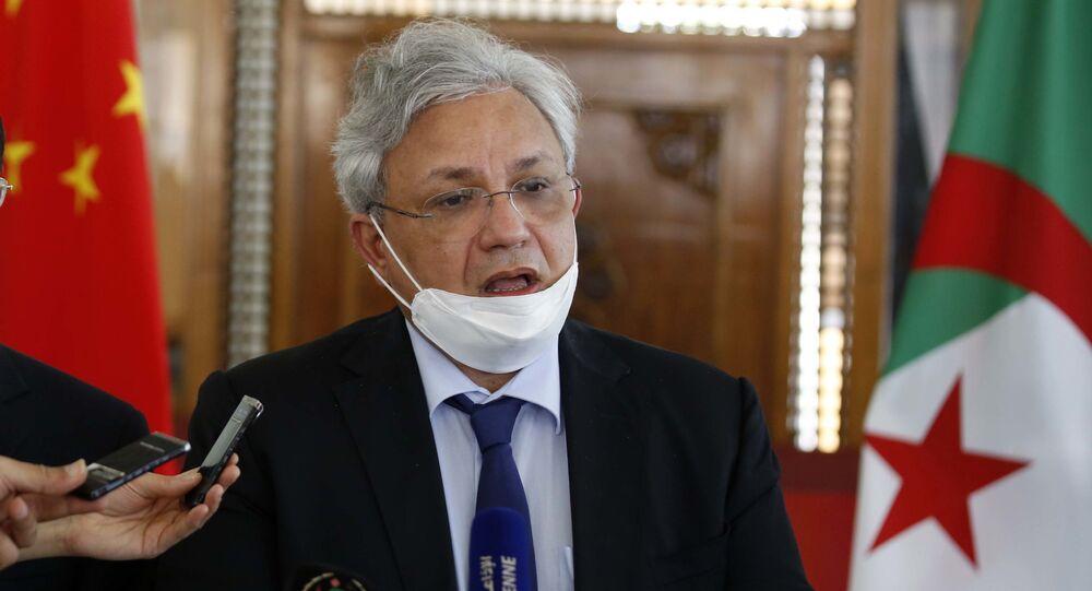 Lotfi Benbahmed, ministre de l'Industrie pharmaceutique, Algérie