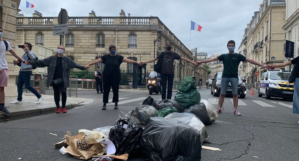 Une «manif surprise» de Youth for Climate pour une «démocratie sans filtre» à Paris
