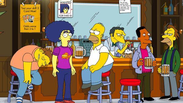 Les Simpsons - Sputnik France