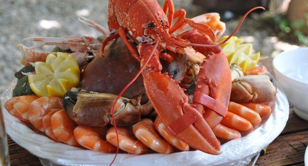 Un plat de crustacés