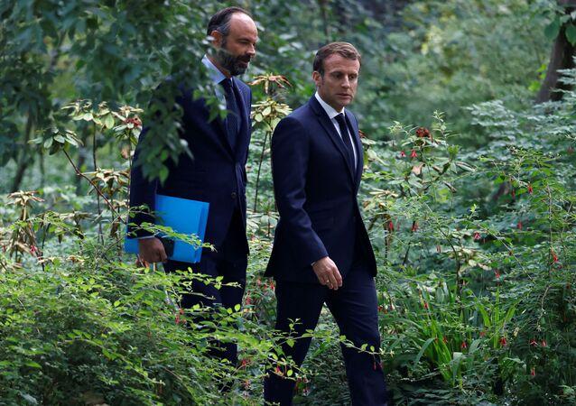 Emmanuel Macron et Édouard Philippe vont à la rencontre avec les membres de la Convention citoyenne pour le climat à l'Elysée (image d'illustration)