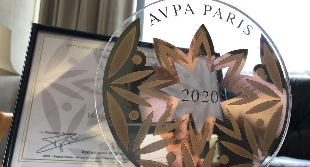 Dans la catégorie L'es huiles du monde, AVPA a descerné le prix à Biolio, pour son huile de pépins de coiurge