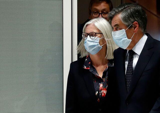 François Fillon et sa femme