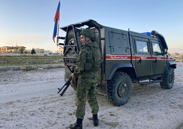 Police militaire russe à Idlib