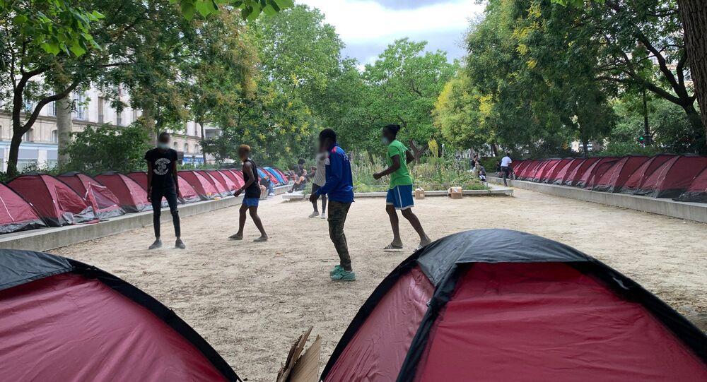 Des jeunes migrants (image d'illustration)