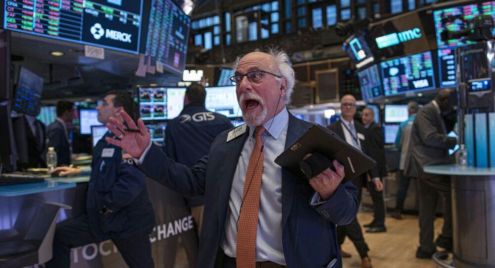 Trader à la bourse de New York, janvier 2020 (image d'illustration)