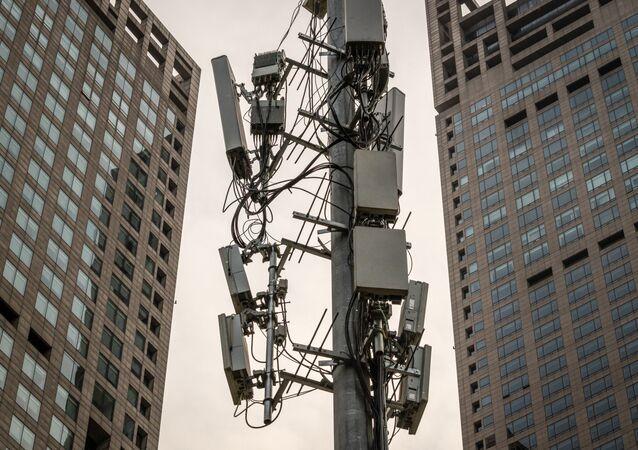 Un tour cellulaire 5G (image d'illustration)