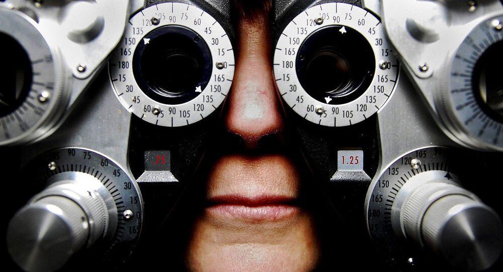Chez l'ophtalmologue