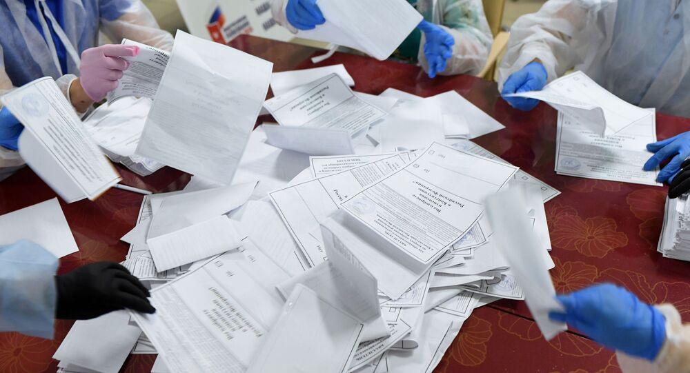 dépouillement des bulletins