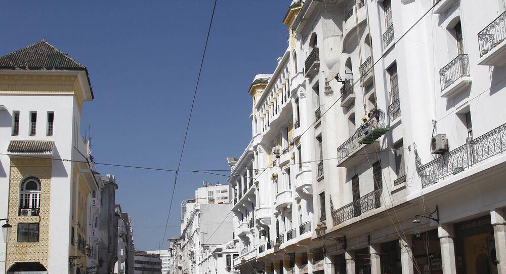 Le boulevard Mohammed V, à Casablanca (archive photo)