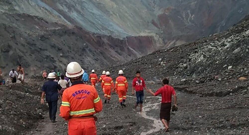 Birmanie: au moins 113 morts dans un glissement de terrain