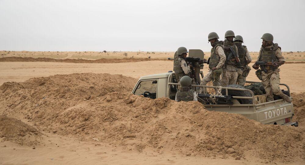 Les soldats de l'armée mauritanienne au Sahel.