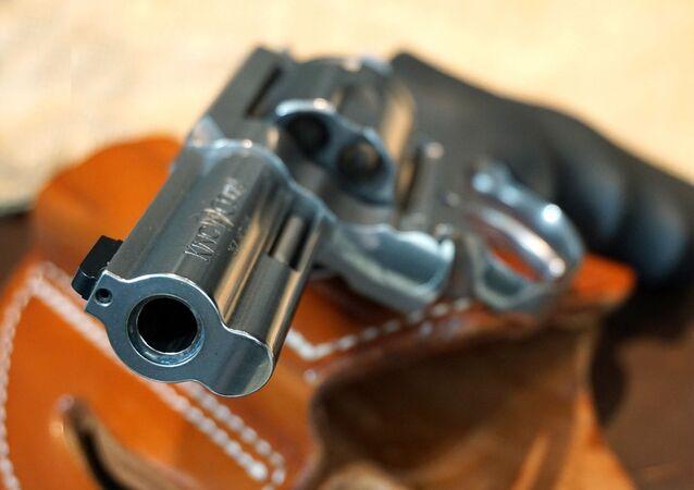 Un revolver (image d'illustration)