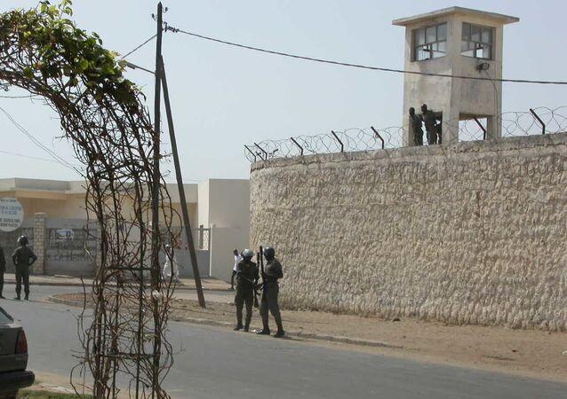 La prison de Reubeuss à Dakar