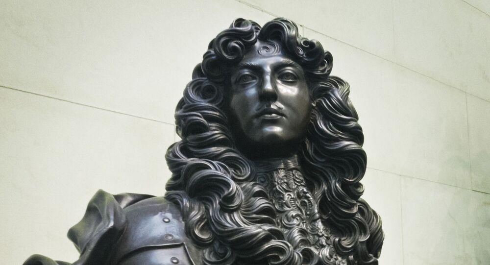 Un buste de Louis XIV, image d'illustration