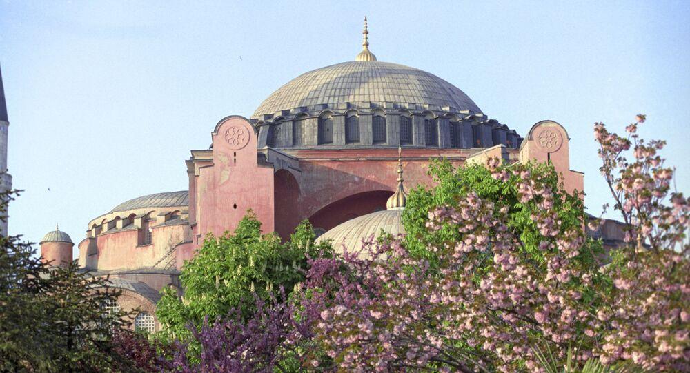 Basilique Sainte-Sophie d'Istanbul