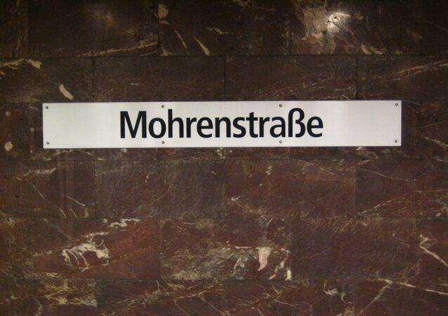 Station de métro Mohrenstrasse à Berlin