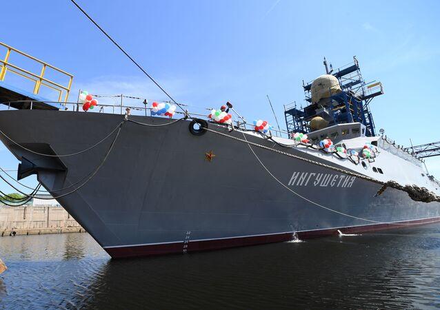 La corvette russe Ingouchetia