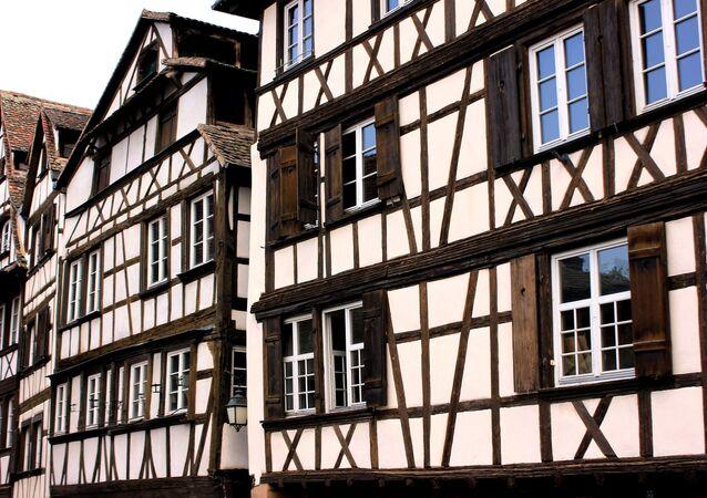 Des maisons à colombages en Alsace