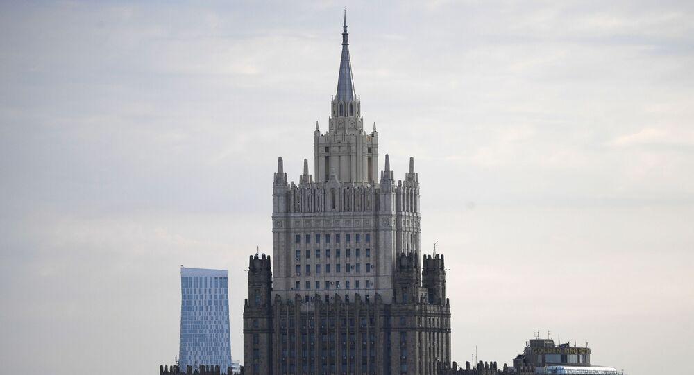 Le siège du ministère russe des Affaires étrangères