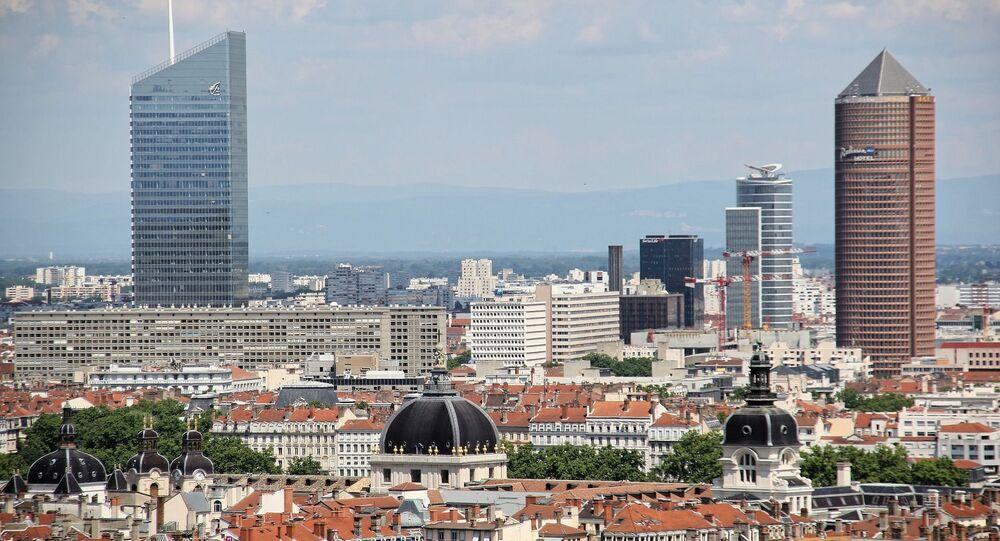 Le quartier de la Part-Dieu à Lyon