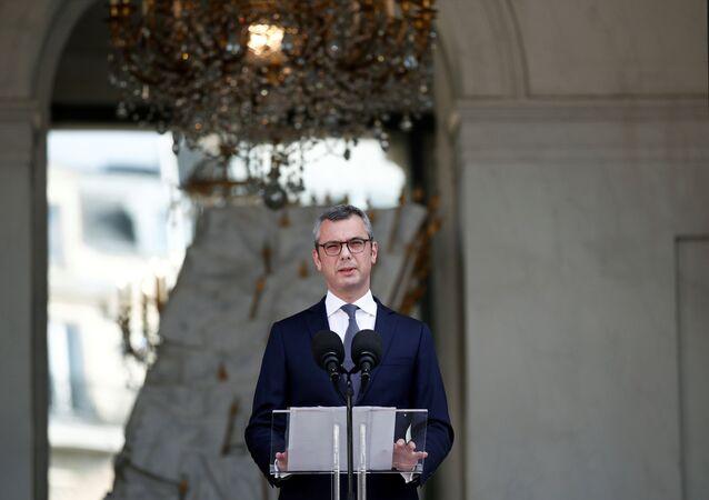 Le secrétaire d'État de l'Élysée Alexis Kohler annonce la composition du nouveau gouvernement de Jean Castex