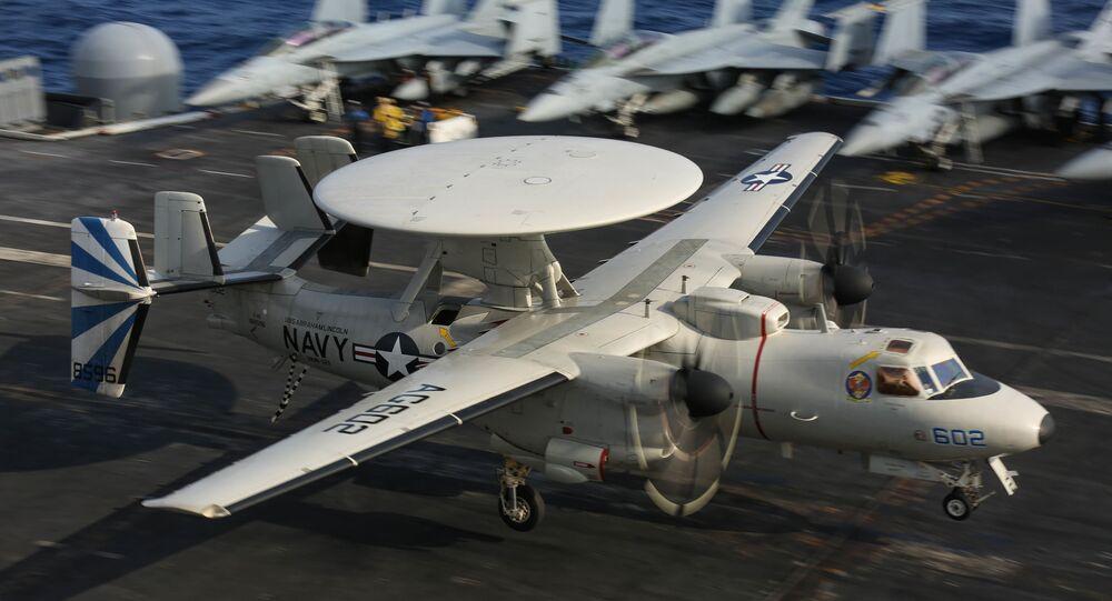 An E-2D Hawkeye