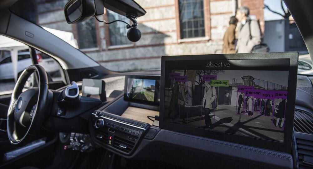 Une voiture autonome