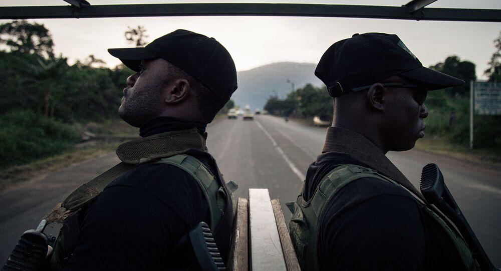 Des soldats camerounais dans la Sud-Ouest du Cameroun.